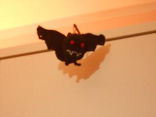 pipistrello amigurumi all'uncinetto