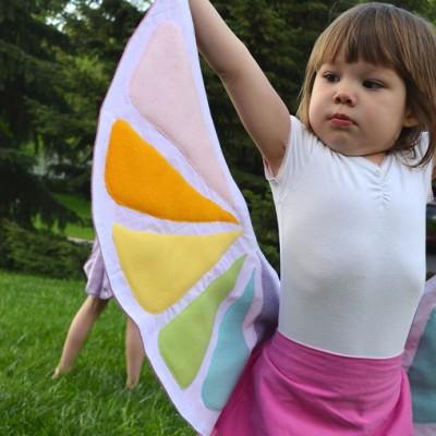 costume da farfalla