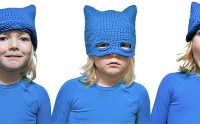 maschera a maglia
