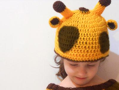 costume da giraffa cappello