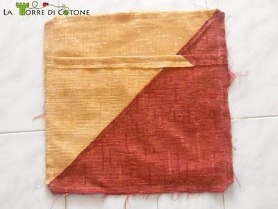 Tutorial: come cucire la fodera dei cuscini senza chiusura