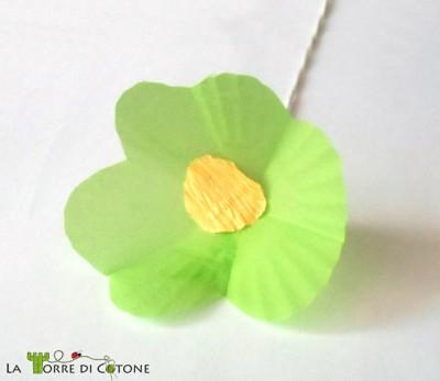 Come fare un bouquet di fiori di carta riciclando le formine per muffin