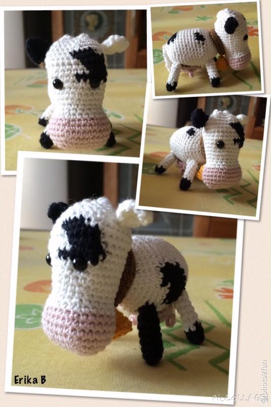 mucca amigurumi